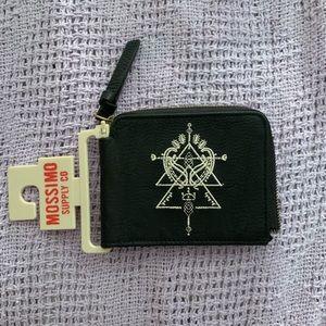 Black Zipper Wallet